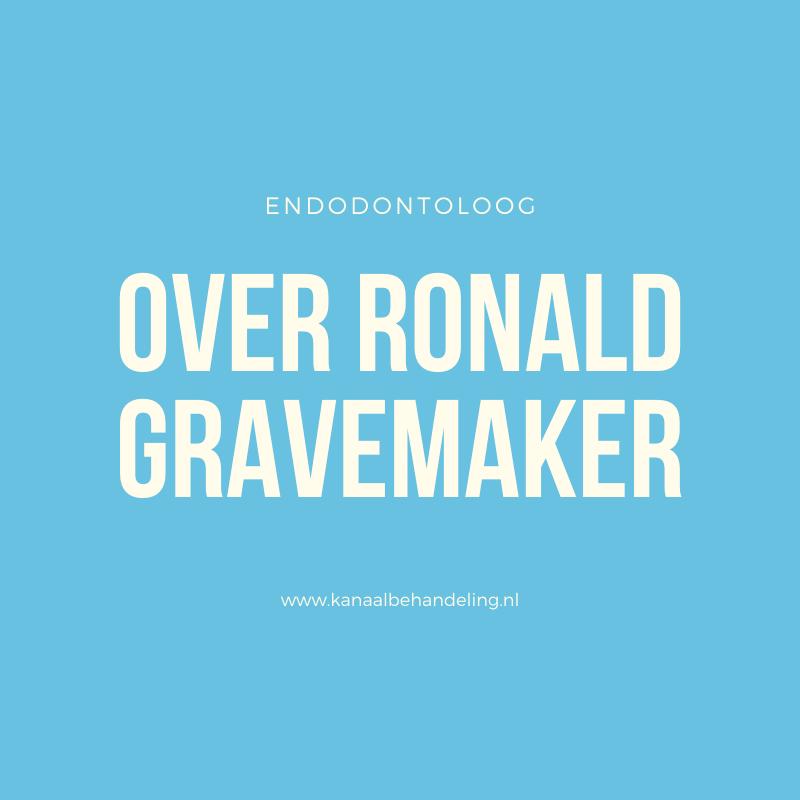 ronald gravemaker kanaalbehandeling