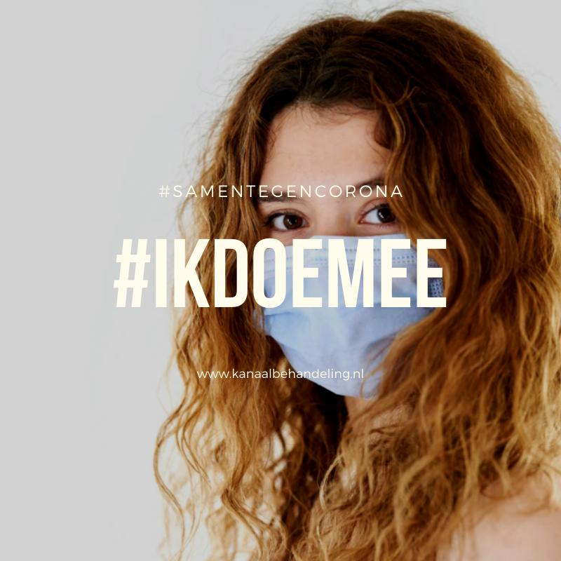 #ikdoemee mondkapje dragen